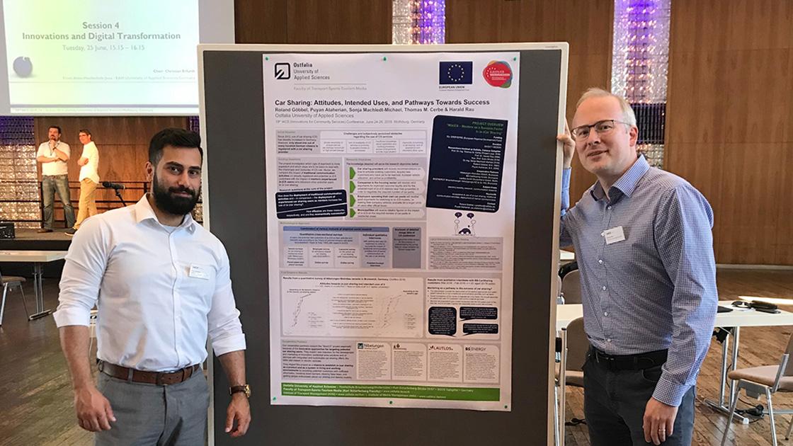 Posterpräsentation auf der I4CS Conference 2019 in Wolfsburg