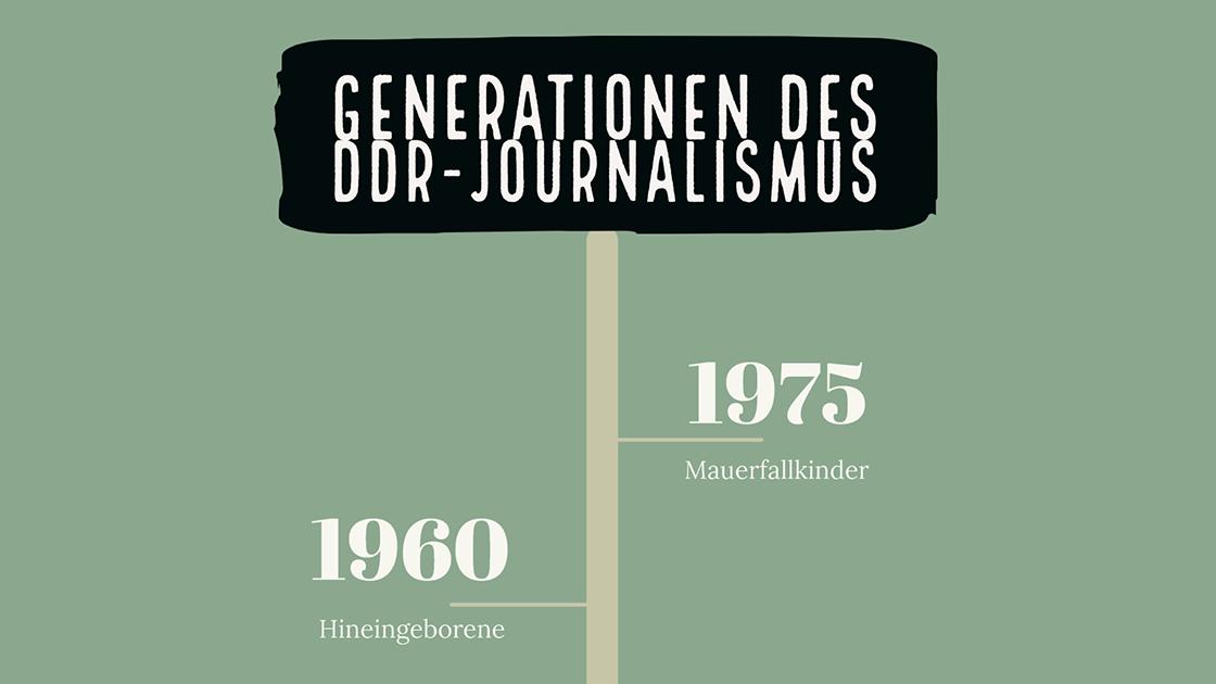 Journalismus in der DDR – Biografien im Scrollytelling!