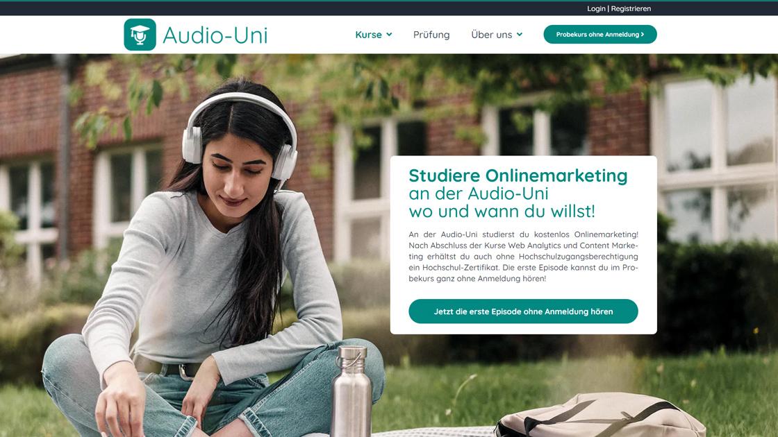 Der richtige Ton: Getroffen! Futter für die Audio-Uni!