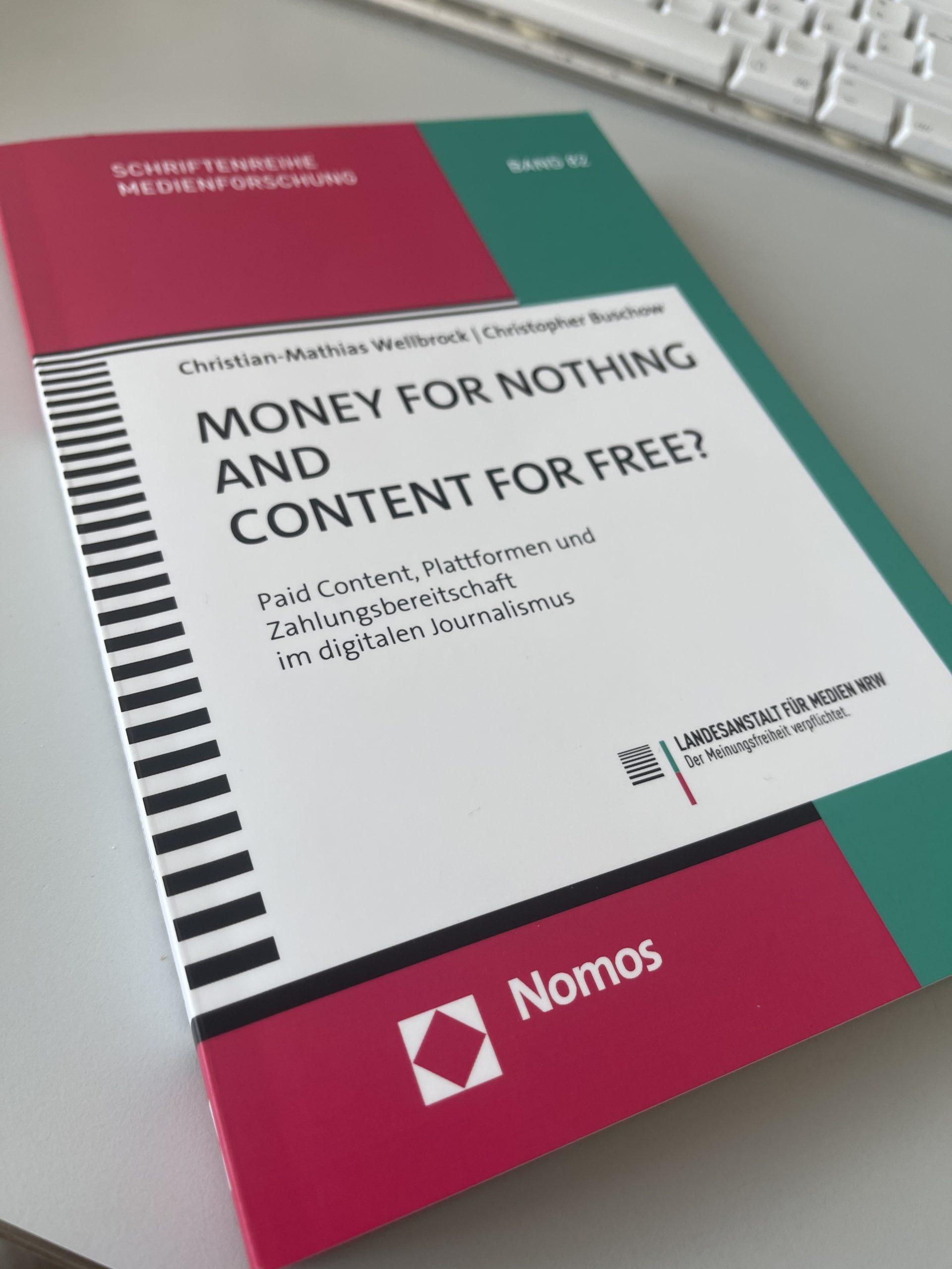"""""""Money for Nothing and Content for Free!"""" Das Buch mit dem Zeug zum Klassiker!"""
