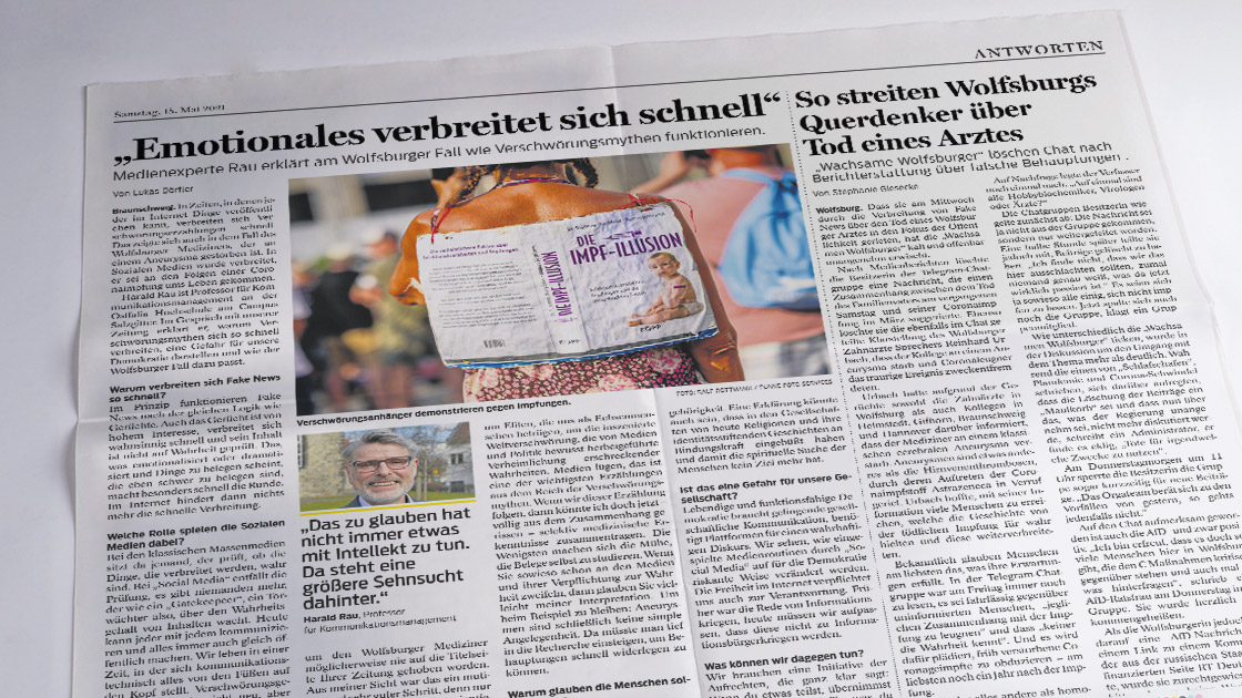 Verschwörungsmythen – der Fall Wolfsburg